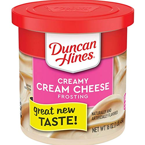 Duncan Hines Creamy Cream Cheese Frosting, 16 OZ