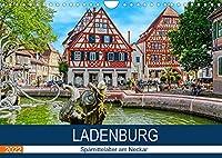Ladenburg - Spaetmittelalter am Neckar (Wandkalender 2022 DIN A4 quer): Spaziergang durch die Altstadt von Ladenburg (Monatskalender, 14 Seiten )