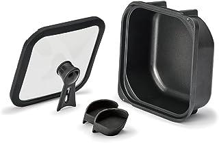 四角いお鍋 sutto(スット) 18×8㎝ 両手鍋 ブラック ドウシシャ
