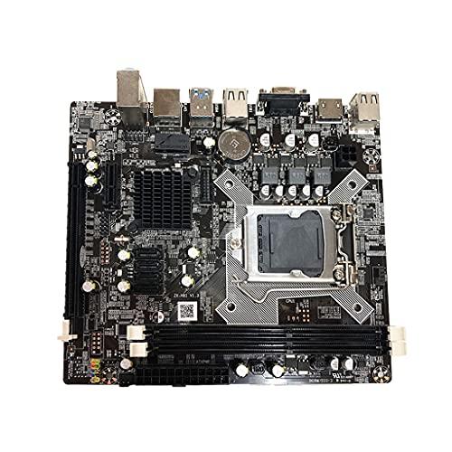 Placa base portátil de la computadora H81, LGA 1150 Pin Quad-Core soportes, interfaz del disco duro, DDR3 canal dual para la CPU I3 I5