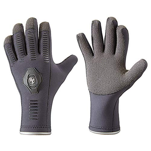 AKONA 5mm ArmorTex Palm Neoprene Diving Gloves with Quantum Stretch...