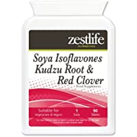 Zestlife Isoflavonas de Soja Kudzu Root y trébol rojo - 90 Tabletas |