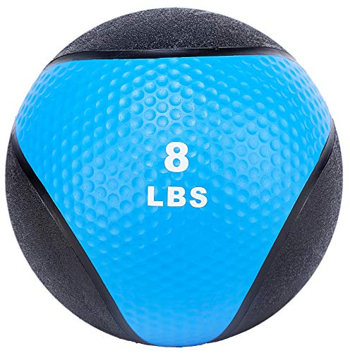 BalanceFrom Workout Exercise Fitness Weighted Medicine Ball, Wall Ball and Slam Ball, Vary