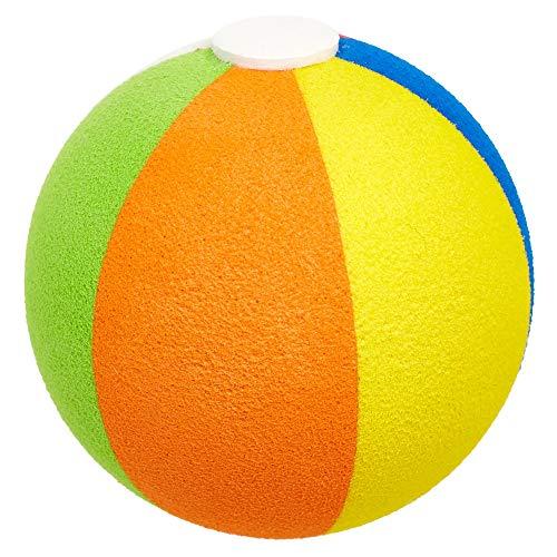 HappyBalls Summer Fun Beach Ball Car Antenna Topper/Auto Mirror Dangler/Dashboard Bobble Buddy (Fits Fat Stubby Style Antenna) (Large 9mm Diameter Hole Size)
