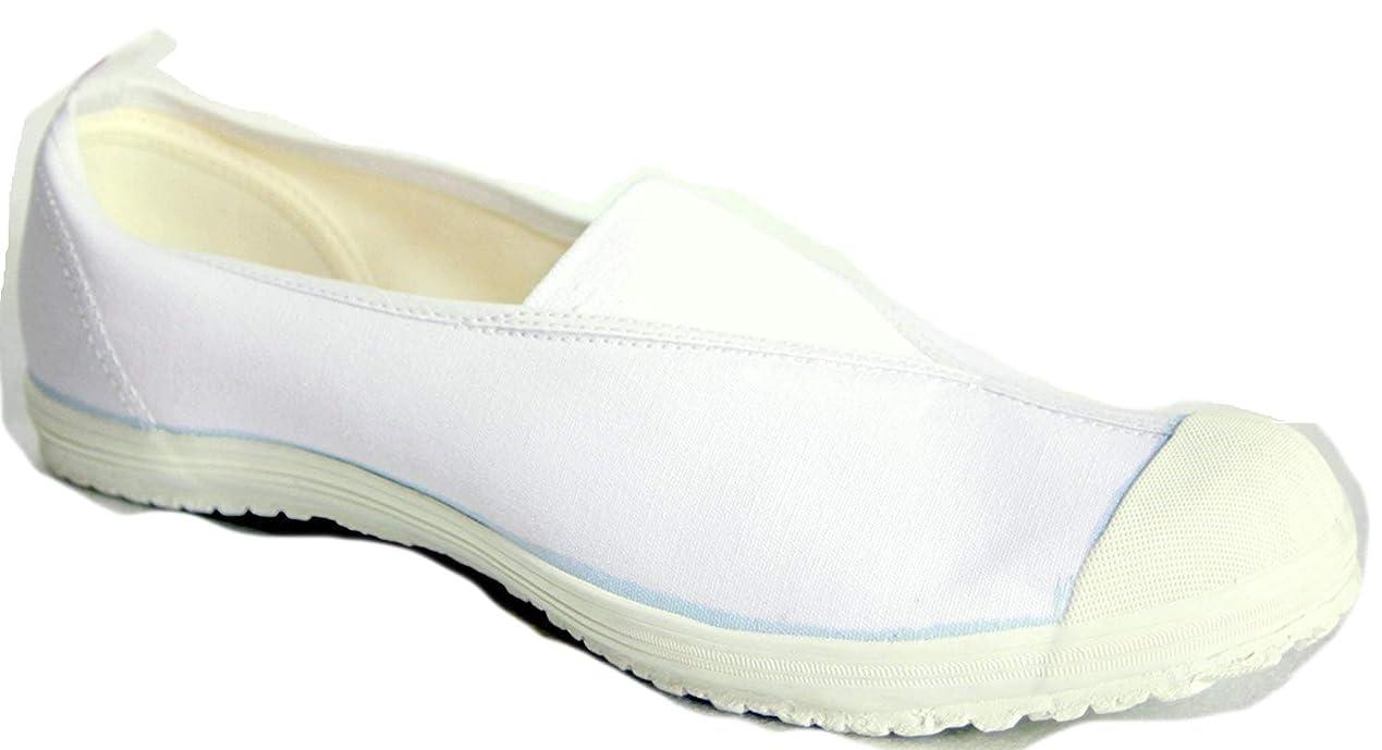 眩惑する旅行基準ムーンスター 上履き 上靴 学校指定 ハイスクール4型 (24.0, ホワイト)