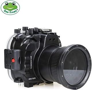 Sea Frogs Fujifilm X-T2用 水中カメラケース アンダーウォーターハウジング 防水性能40m 防水ハウジング 保護ケース 防水プロテクター 水中撮影用 (16-50MM/18-55MM)