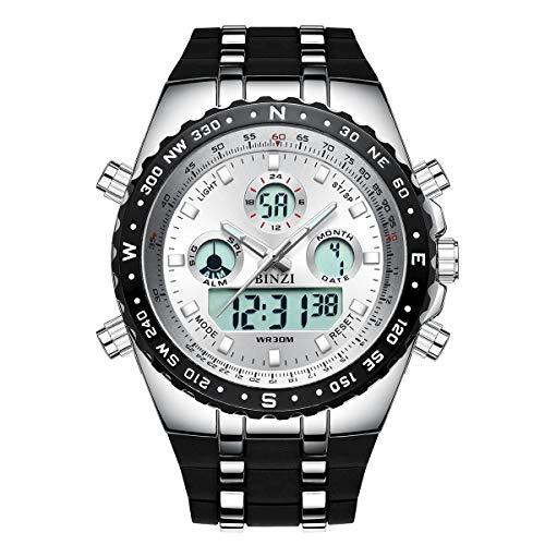 Relojes Hombre Deportivo Binzi, Digital...