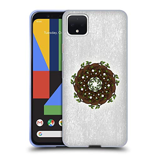 Head Case Designs Officially Licensed Beth Wilson Branches Celtic Knots Soft Gel Case Compatible with Google Pixel 4 XL