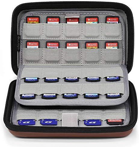 Sisma 80 Game Cartridge Holders Storage Case for Organizing Nintendo Switch Sony Ps Vita Games product image