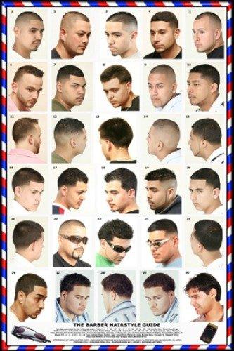 061hsm Barber Poster Men S Hairstyles Buy Online In Guernsey At Guernsey Desertcart Com Productid 64308288