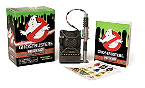 Ghostbusters: Proton Pack and Wand (Gift) This collectable kit includes a mini replica of the ghost-debilitating proton pack and wand Complete with light and sound features, this cool gadget allows aspiring Ghostbusters to light'em up and blast away ...