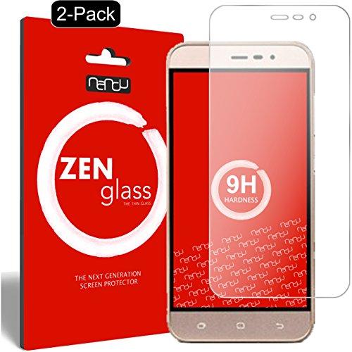 ZenGlass [2 Stück Flexible Glas-Folie kompatibel mit Medion Life E5006 Panzerfolie I Bildschirm-Schutzfolie 9H