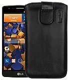 mumbi Echt Ledertasche kompatibel mit LG G3 S Hülle Leder
