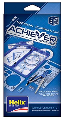Helix Achiever - Kit de accesorios para matemáticas y geometría
