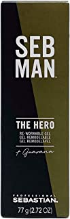 SEB MAN The Hero by Sebastian, Men's Re-Workable Gel, 2.5 oz.