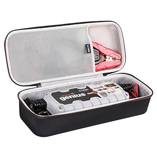 LTGEM EVA Hard Case Compatible with G15000 12V/24V 15A Pro Series UltraSafe Smart Battery Charger - Travel Protective Carrying Storage Bag
