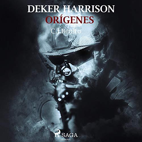 Diseño de la portada del título Deker Harrison