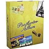 SAFE 7920 Karten Sammelalbum - Postkarten Sammelalbum + 15 Stk. 5471 Hüllen für Postkarten Aufbewahrung