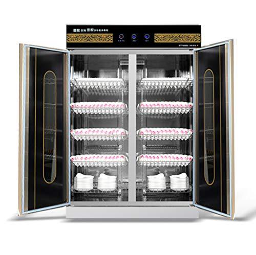 Sterilisator gehard glas, smart touchscreen, dubbele deur, desinfectiekast, ozon infrarood, melamine desinfectiekast, sterilisator