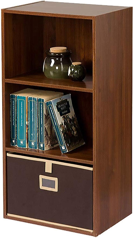 3shelf Wooden Bookcase, Home Shelving Display Storage Case Office Shelves Unit Rack