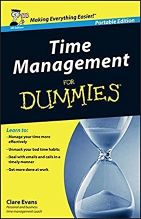 Time Management For Dummies - UK by Clare Evans(2014-04-14)