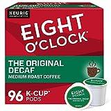 Eight O'Clock Coffee The Original Decaf, Single-Serve Keurig K-Cup Pods, Medium Roast Coffee Pods, 96 Count