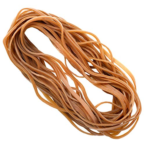 30 Pcs Large Rubber Bands (20cm/ 8inch), Big Heavy Duty Elastic Bands for Office, School, Trash Cans