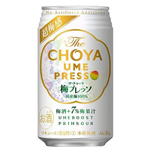 The CHOYA 梅プレッソ [ チューハイ 350ml×24本 ]