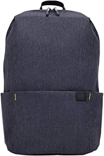 Blur&Oasis Small backpack Waterproof Backpack Slim Backpack for student colorful Casual Daypack(black)