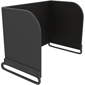 PGYTECH Remote Controller Phone Monitor Sun hood Sunshade Cover Hood Smartphone Tablet iPad Sun Shade for DJI Mavic pro Phantom 4 pro Inspire M600 OSMO products (L168, Black)