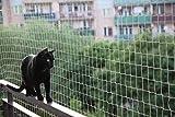 Red antipalomas y gatos para balcón, terraza, patio y ventanas. AVIFIN 5x5m (y otras medidas) color arena. KIT MONTAJE COMPLETO.
