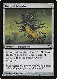 Magic: The Gathering - Umbral Mantle - Mystery Booster - Shadowmoor