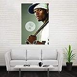 NOVELOVE Hip-Hop Rapper 50 Cent Schauspieler Poster