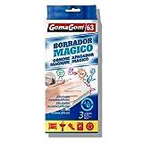 GOMAGOM - Pack de 3 éponges gomme magique - Numéro 63