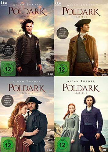 Poldark - Staffel 1-4 im Set - Deutsche Originalware [14 DVDs]