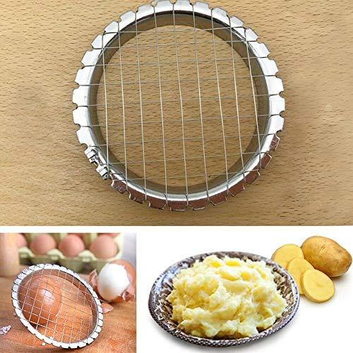 Cortador de huevos, cortador de huevos, rejilla de alambre para verduras y ensaladas herramienta