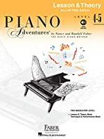 Piano Adventures All-in-Two Level 4-5 Les&Theory: Lesson & Theory - Anglicised Edition