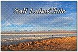 GIRDSS 1000pcs Puzzle Rompecabezas de Madera Rompecabezas Salar de Atacama Chile Adultos Juego de Painting Puzzle decoración