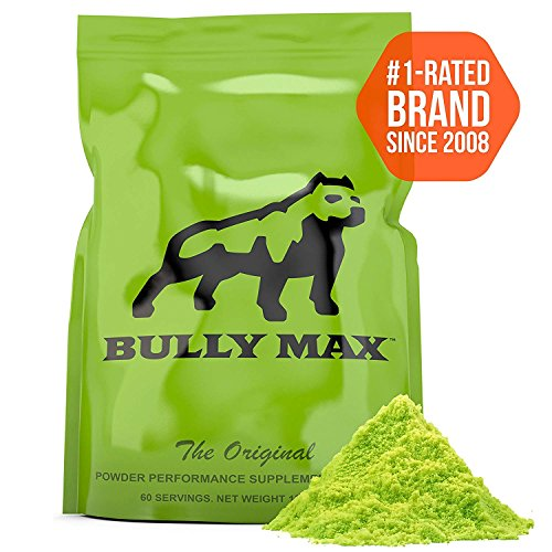 Bully Max Muscle Building Powder for Dogs. 5X More...