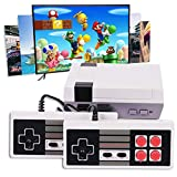 Atopoo Classic Handheld Game Console, HD Classic Game Console Built-in 600 Game in TF Card,and 2 NES Classic Controller HDMI Output Video Game (600HD)