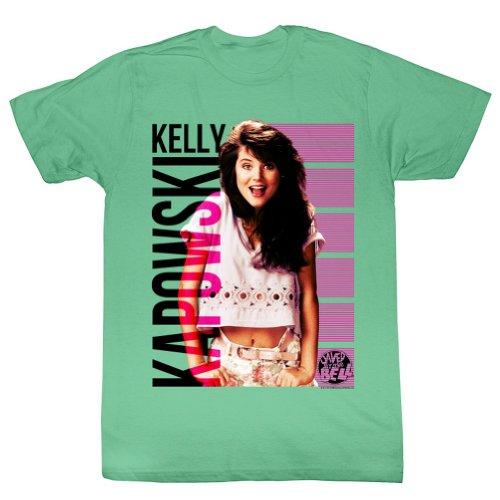 Kelly Kapowski Photo Green T-shirt for Men