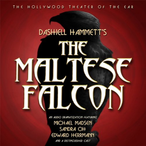 The Maltese Falcon (Dramatized) audiobook cover art