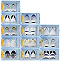 12-Pack Stackable Shoe Storage Container