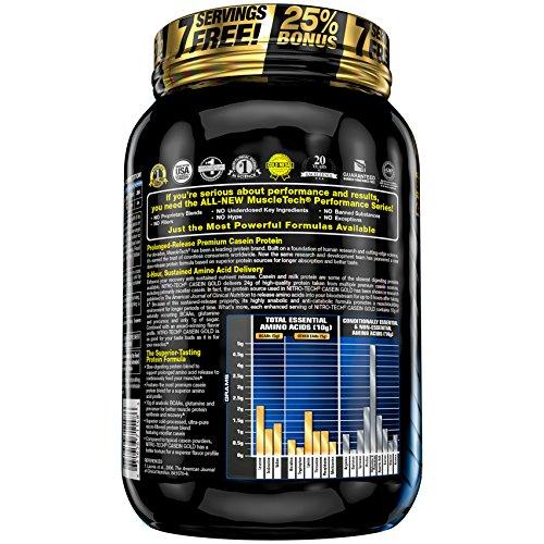 ナイトロテックカゼインゴールド1.14kg(NitroTechCaseinGold2.5Lbs.)【並行輸入品】(チョコレートシュープリーム)