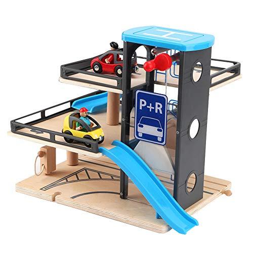 Juguete de Garaje, Juguete de Pista Creativo portátil, Educativo para niños