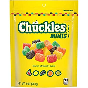 Chuckles Mini Jelly Candy 10 Ounce Pack of 6