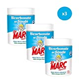 St Marc Bicarbonate de Soude Nettoyant Multi-Usage 100% d'Origine Naturelle 500 g -...