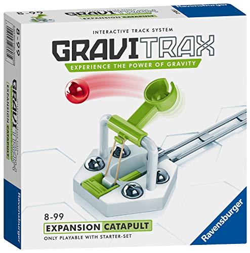 Ravensburger 27603 GraviTrax Katapult-Zubehör – Marmor Lauf-und Konstruktionsspielzeug für Kinder ab 8 Jahren – englische Version, Nichts