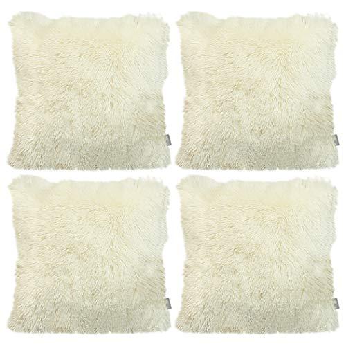 Sea Soft Lion Velvet Throw Pillow Funda de cojín Funda de almohada decorativa para el hogar de moda (Paquete de 4)
