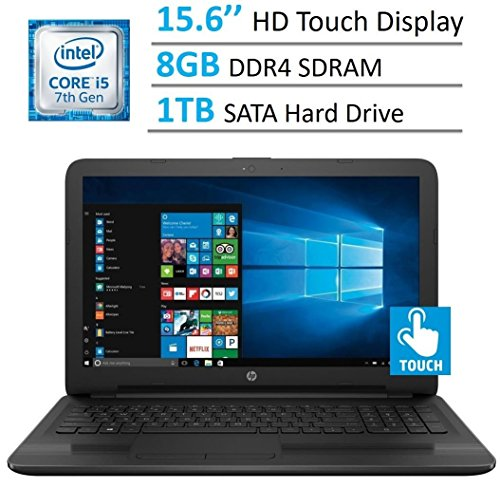 HP 15.6'' HD Touchscreen TruBrite Display...